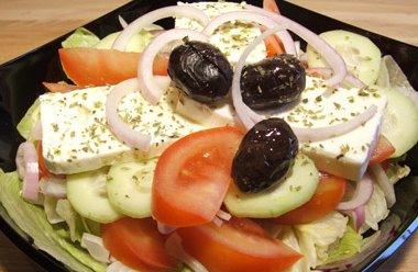 Insalata greca con pita
